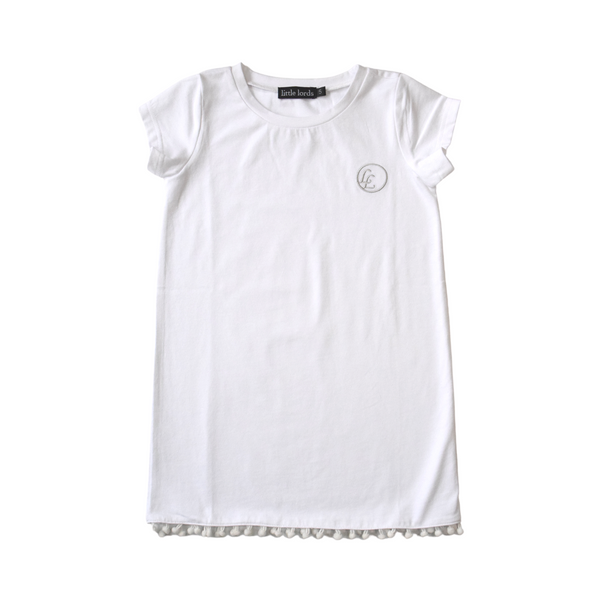 Little Lords Snow T-Shirt Dress
