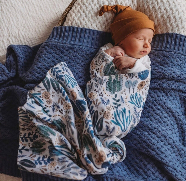 Snuggle Hunny Kids - Organic Muslin Wrap - Arizona