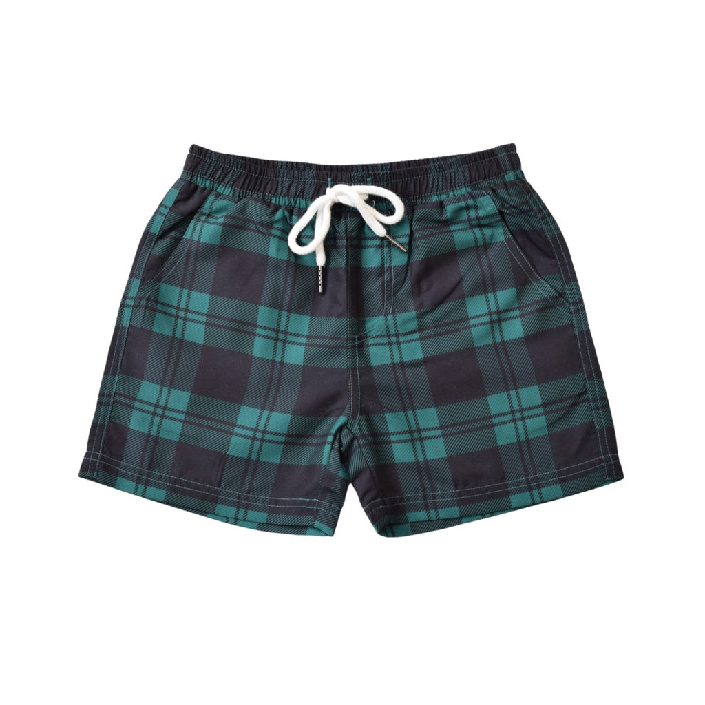 LITTLE LORDS - TARTAN BOARDSHORTS