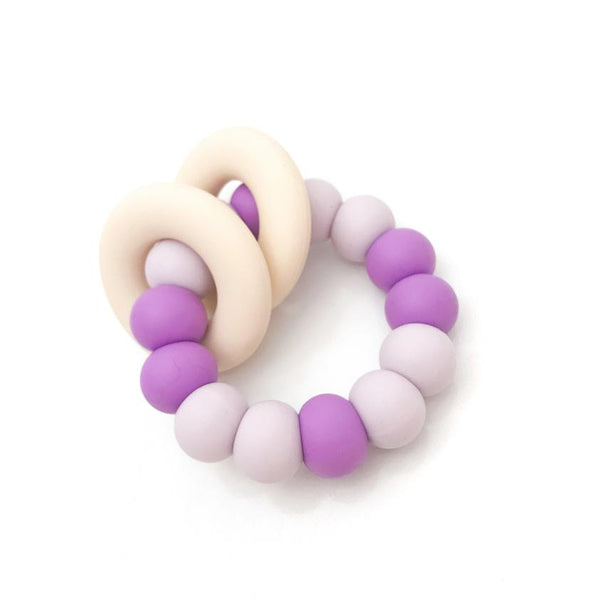 One.Chew.Three Gummi Silicone Teethers