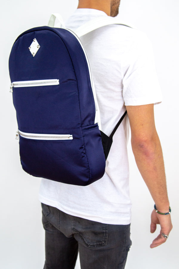 The Slimpack ❖ Navy Satin