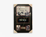 Peter Bedford - Signed Boot - Framed