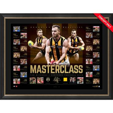 HAWTHORN-TOM MITCHELL SIGNED 'MASTERCLASS'