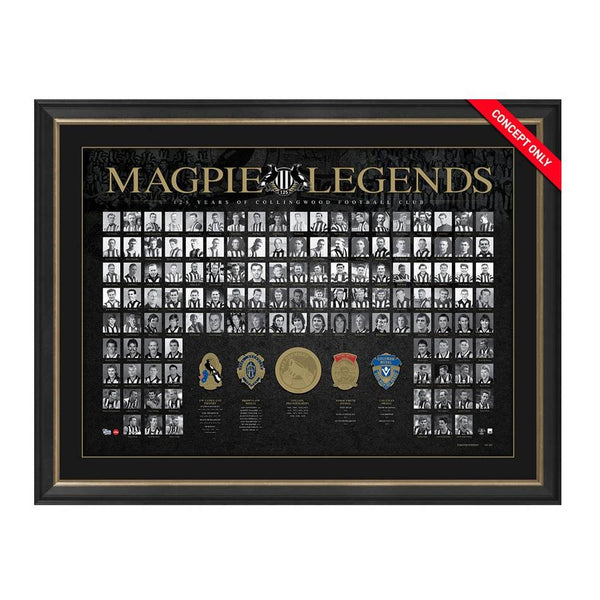 COLLINGWOOD 125TH ANNIVERSARY 'MAGPIE LEGENDS'