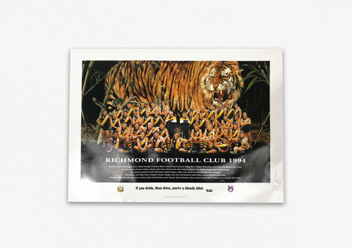 RICHMOND TIGERS 1994 POSTER