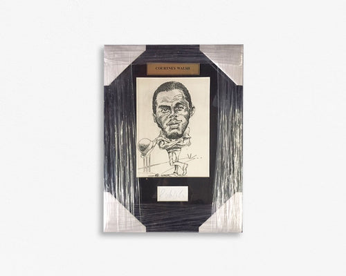 Courtney Walsh – West Indian Cricketer/ Framed