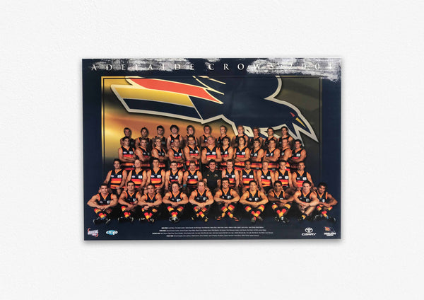 ADELAIDE CROWS 2004 POSTER
