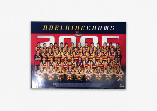 ADELAIDE CROWS 2005 POSTER
