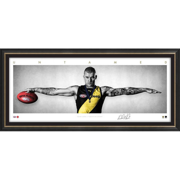 RICHMOND-Dustin Martin Mini Wings FRAMED
