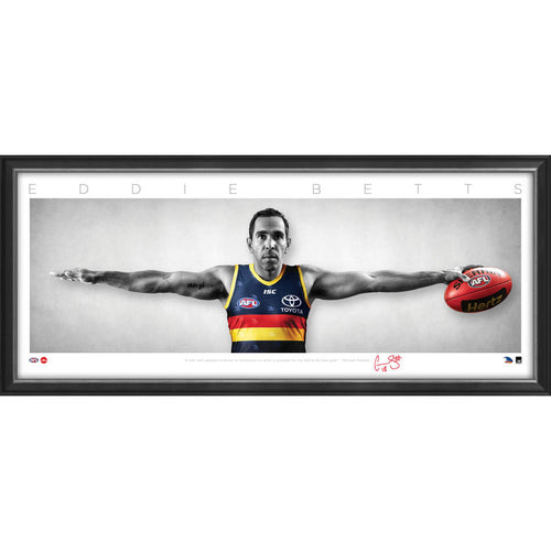 Eddie Betts Signed Mini Wings PRINT ONLY