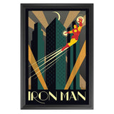 Iron Man - Marvel Comics - Framed