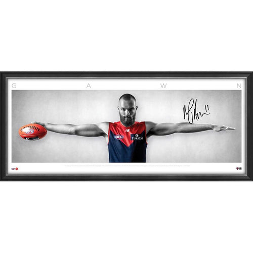 Max Gawn Large Wings SIGNED