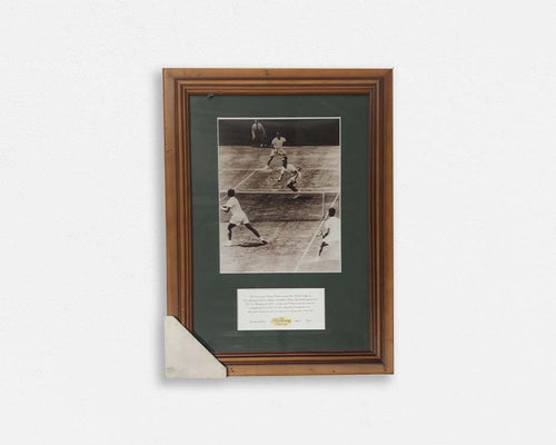 """Kooyong Collection""- Australia's Davis Cup 1958 Tribute Print - Framed"