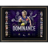 FREMANTLE-Nat Fyfe Signed 2019 Brownlow Medal Lithograph