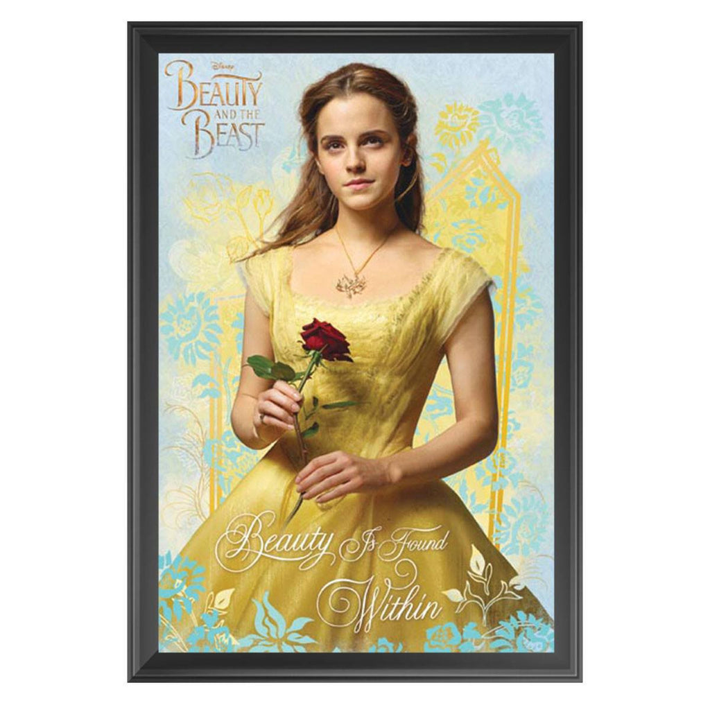 Beauty & The Beast - Belle - Framed