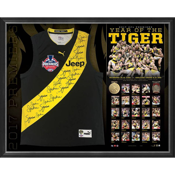 RICHMOND-YEAR OF THE TIGER 2017 PREMIERS SIGNED JUMPER