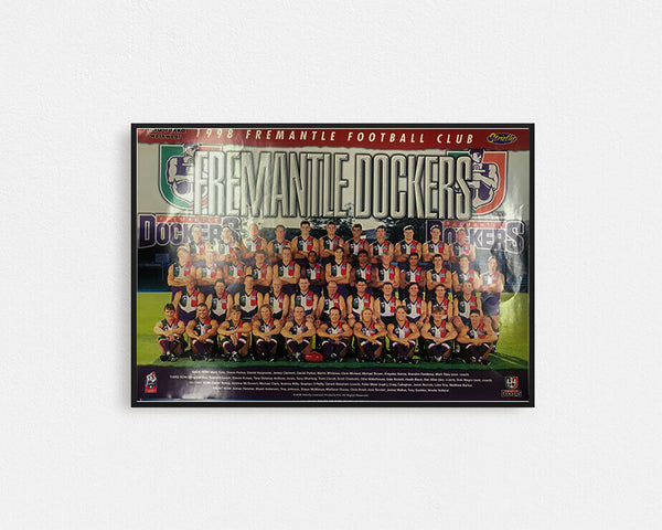 Fremantle 1998 Team Poster