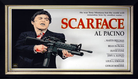 Al Pacino Scarface Framed Mirror