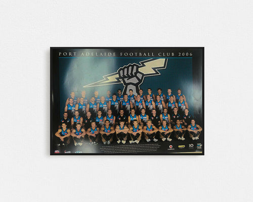 PORT ADELAIDE POWER 2006 POSTER