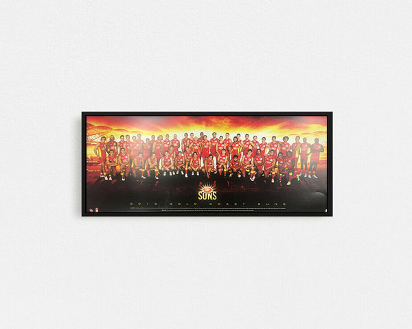 Gold Coast 2013 Team Poster