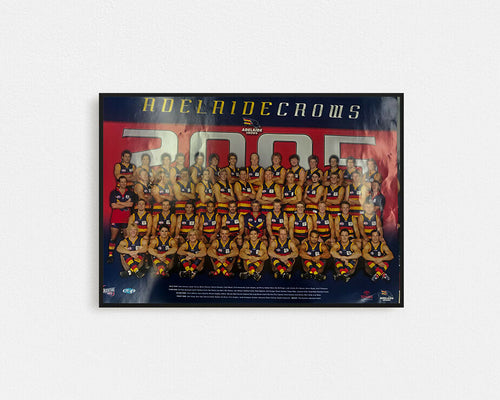 ADELAIDE CROWS 2015 Team Poster
