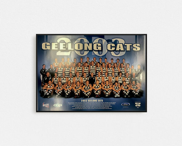 Geelong 2003 Team Poster