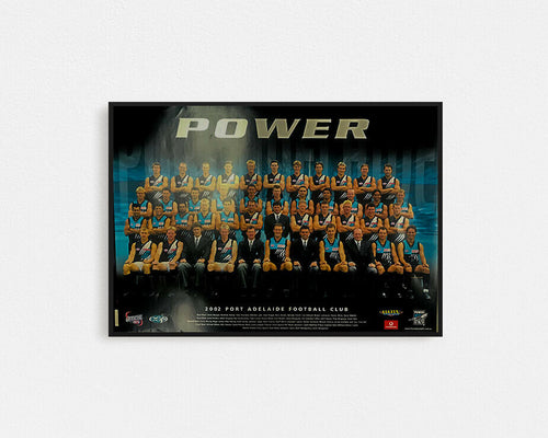 PORT ADELAIDE POWER 2002 POSTER
