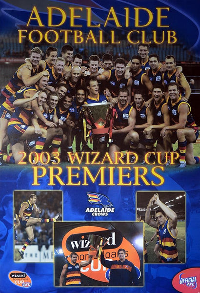 Adelaide 2003 Premiers Team Poster