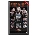 The King Of The Ring – Jeff Horn Personally Signed Glove Display