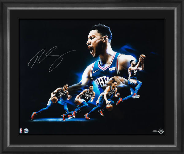 BEN SIMMONS SIGNED 'DRIVE' FRAME