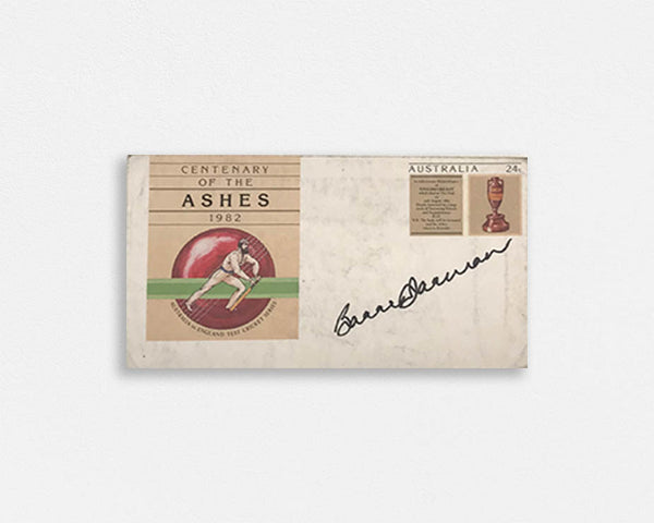 Australian Test Cricketer Envelope SIGNED -  Barry JARMAN