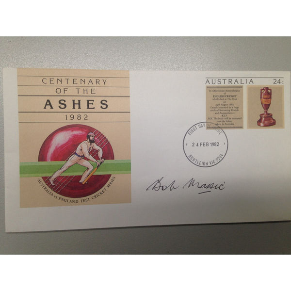 Signed Envelope: Bob Massie