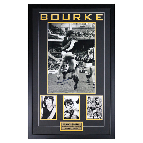 Francis Bourke - Framed Photo Collage/Signed
