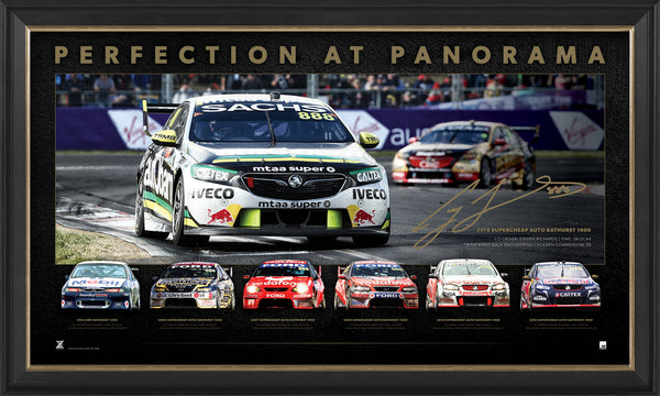 CRAIG LOWNDES 'PERFECTION AT PANORAMA' FRAME