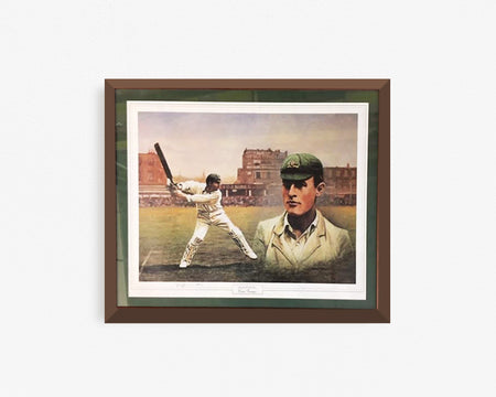 Richard Hadlee Cricketer Poster - Signed (PRINT ONLY)
