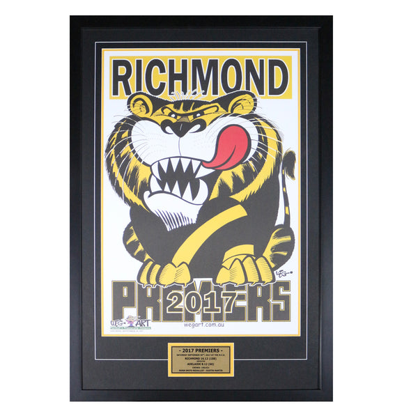 Richmond 2017 Weg Art Poster- Framed