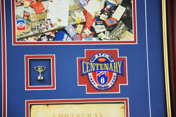 Footscray Centenary 1996 Collage