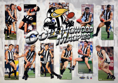 Collingwood 1998 Best Of Poster