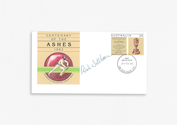 Australian Test Cricketer Envelope Signed - D.Wellham