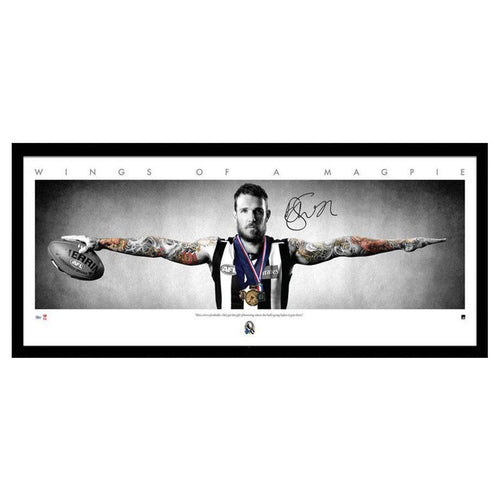 COLLINGWOOD- Dane Swan Signed Wings