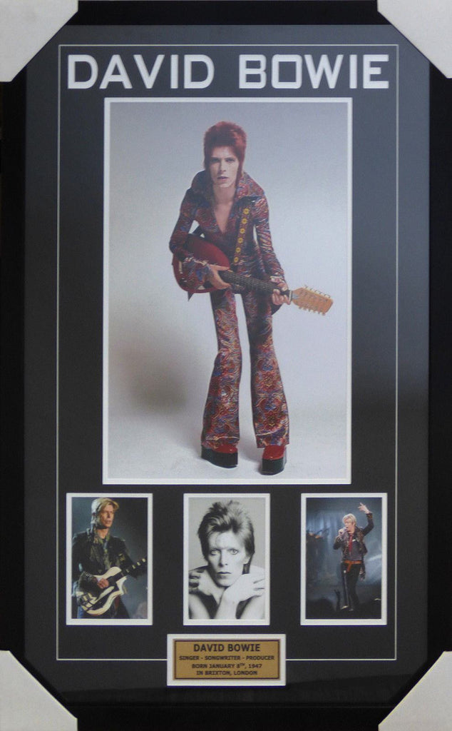 David Bowie Framed Piece