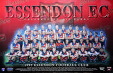 Essendon 1997 Team Poster