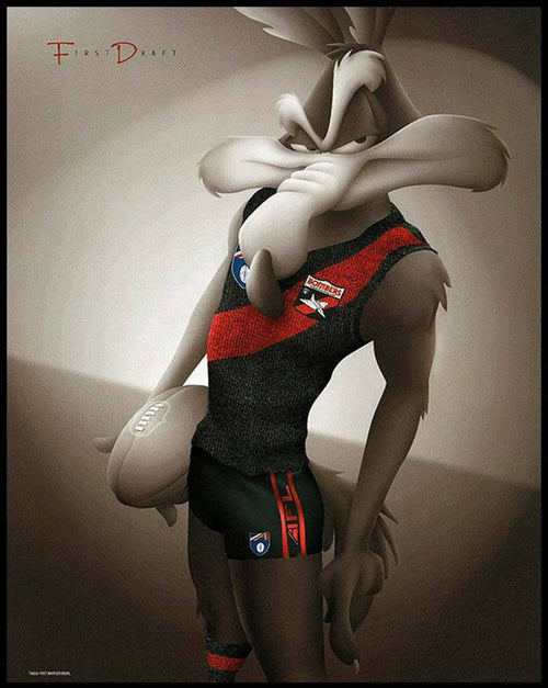 Essendon Looney Tunes Print