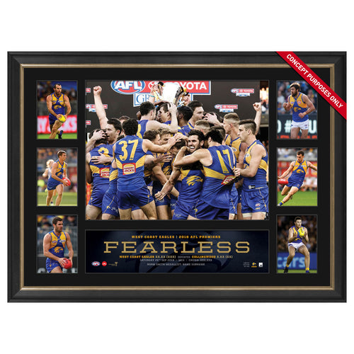 WEST COAST EAGLES 2018 AFL PREMIERS 'FEARLESS'