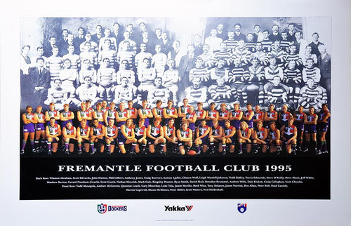 Fremantle 1995 Team Poster