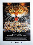 Geelong 1995 Team Poster