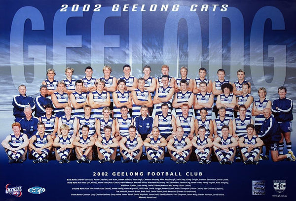 Geelong 2002 Team Poster