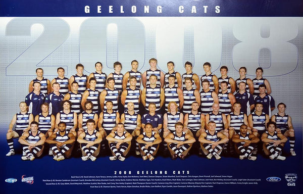 Geelong 2008 Team Poster