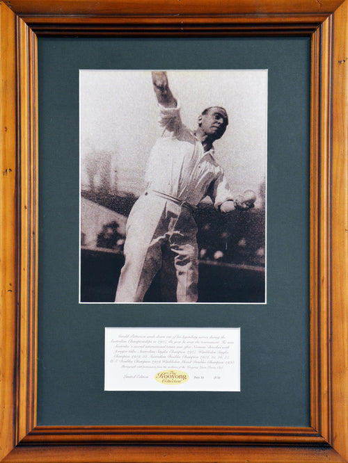 Gerald Patterson 'Kooyong Collection' Framed Photograph