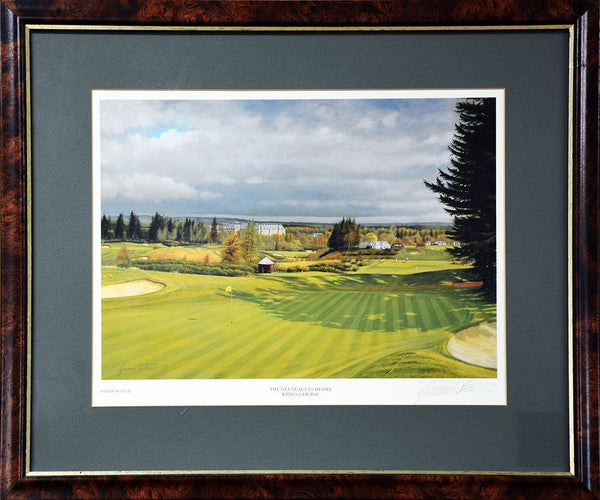 The Gleneagles Golf Course Signed Print